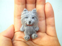 Mini Crochet Cairn Terrier