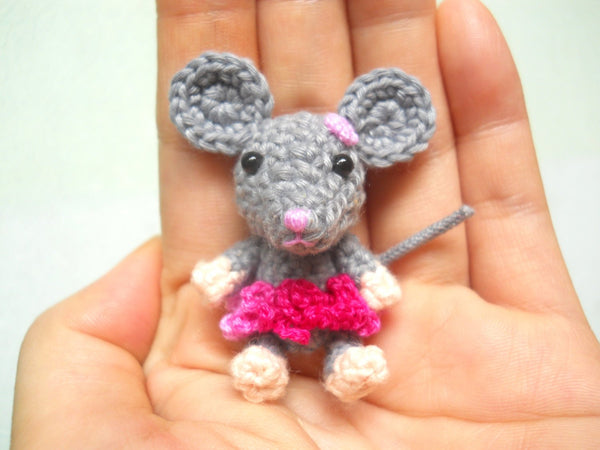 Crocheted Mouse Girl