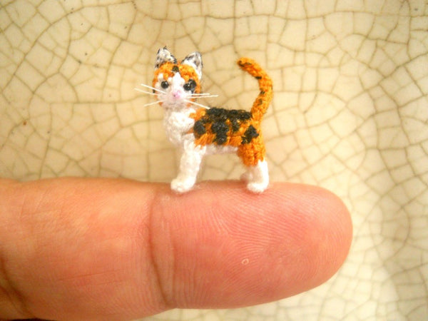 Miniature Calico Cat