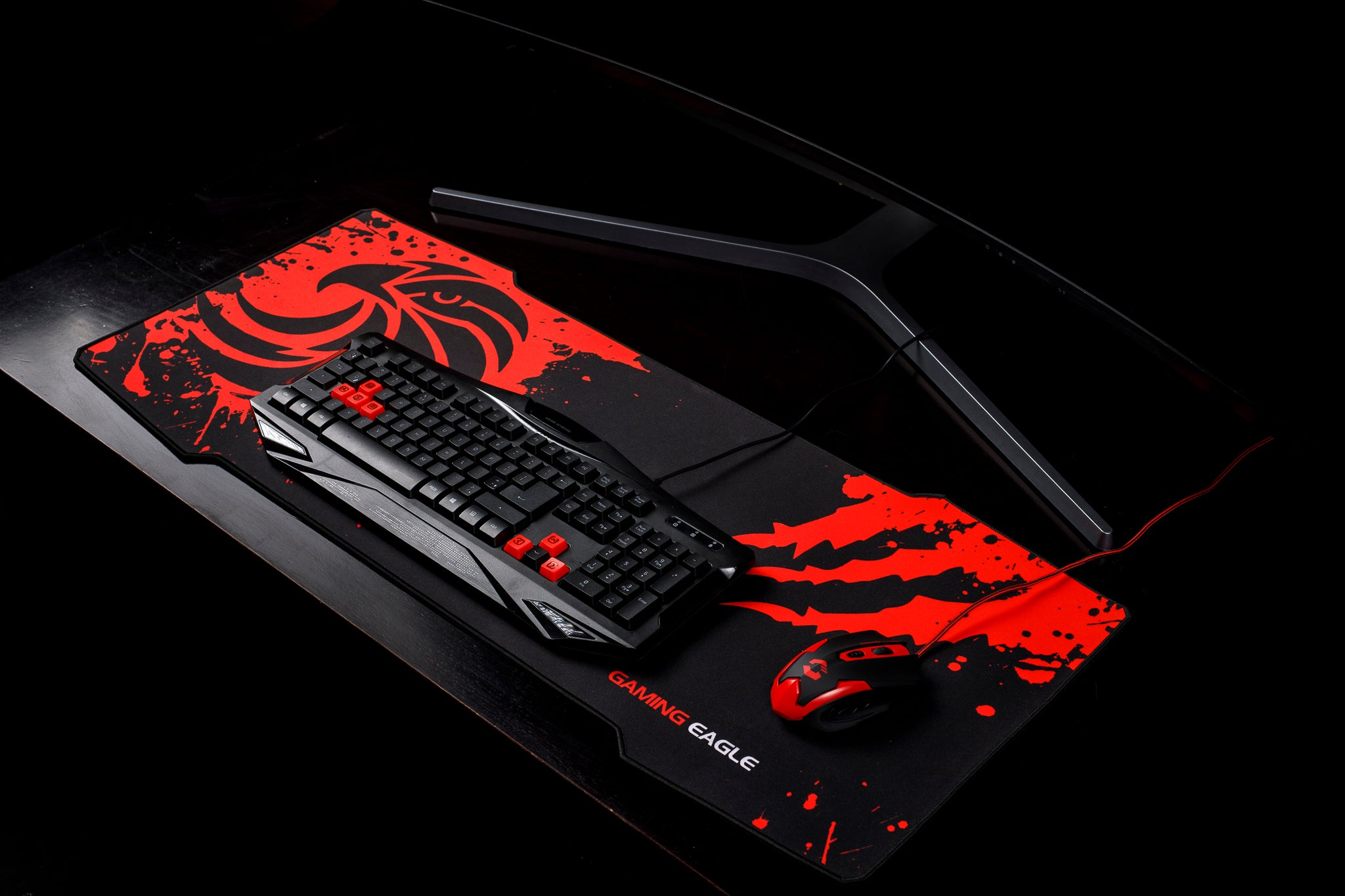 Large Gaming Mouse Pad Extended Mousepad Mouse Mat Gaming Eagle