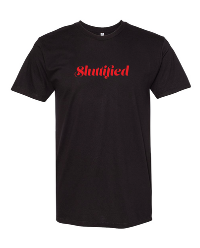Slutified Black Tee
