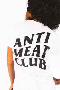 Anti Meat Club- White