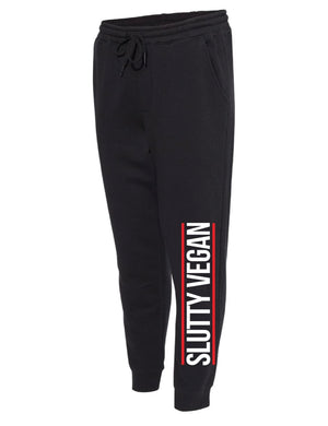 Run Slutty Joggers- Black