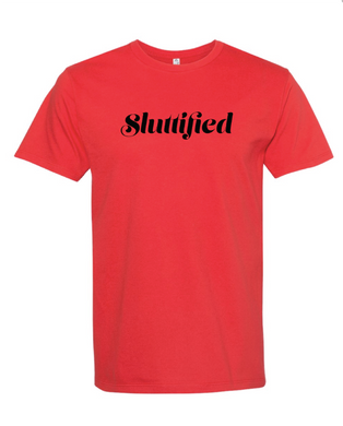Sluttified Tee- Red