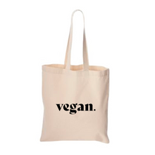 Load image into Gallery viewer, Vegan Tote Bag
