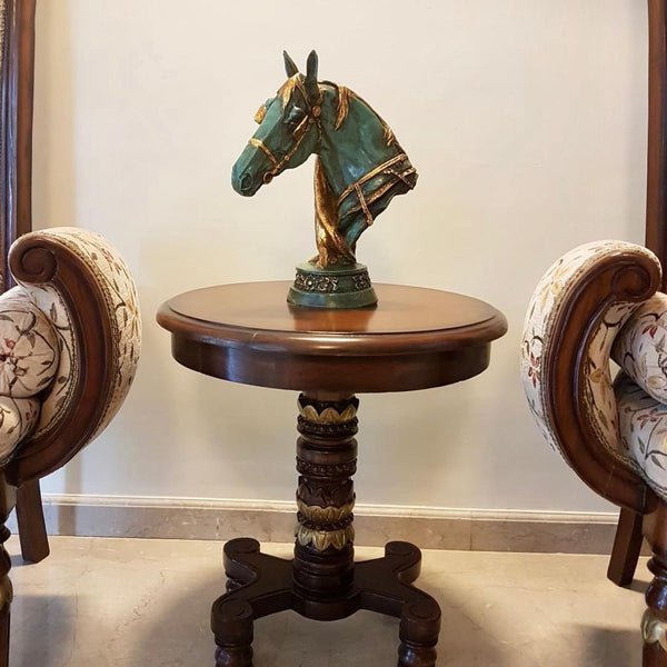 Handcrafted Decorative Fiber Horse - Crafts N Chisel - Indian home decor - Online USA