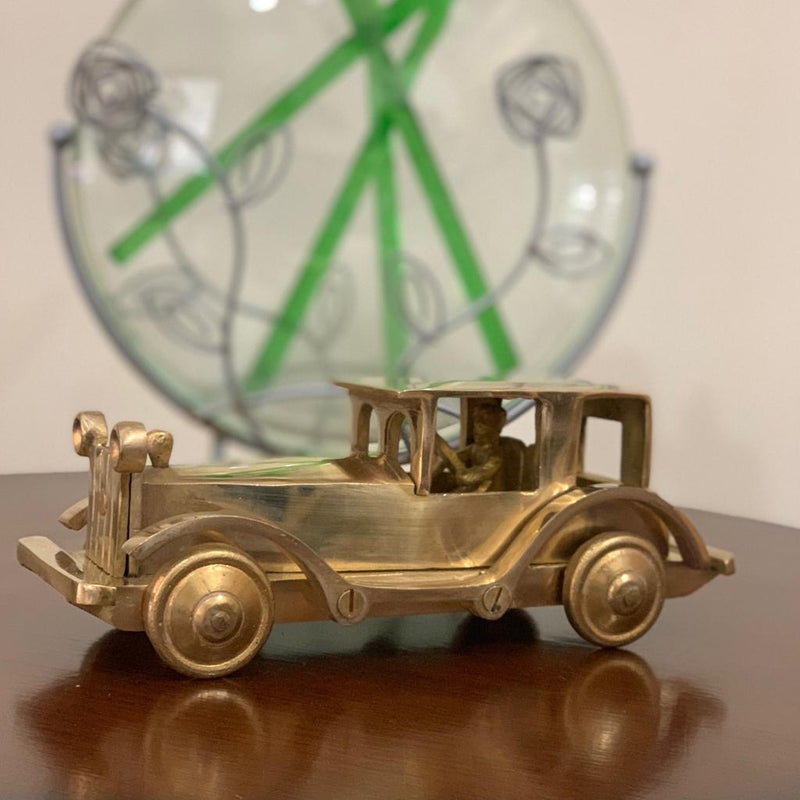Decorative Brass Car - Home Decor - Crafts N Chisel
