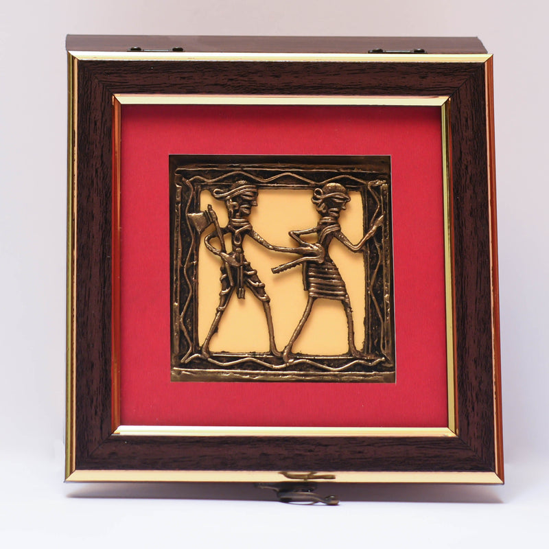 Multipurpose Dhokra Box - Decorative Object - Crafts N Chisel - Indian home decor - Online USA