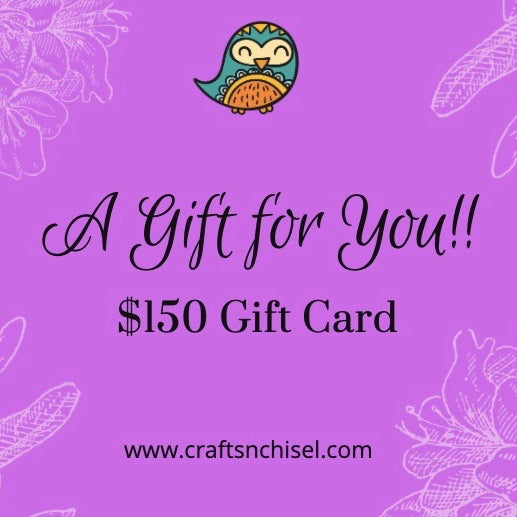 Crafts N Chisel E-Gift Cards-Crafts N Chisel - Indian handicrafts home decor USA