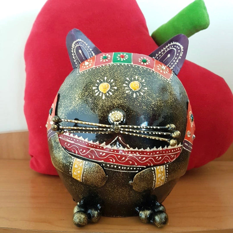Cat Piggy Bank For Boys & Girls - Great Gift For Kids - Home decor - Crafts N Chisel