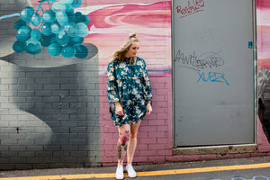 Breezy Jade Smock Dress <BR> On Sale