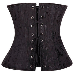 Steel Boned Waist Corsets and Bustiers Under bust