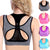 Pure Color Mesh Fitness Bra