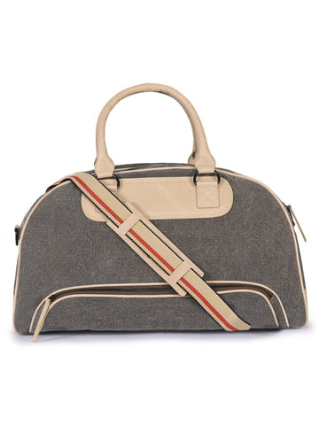 Phive Rivers Men's Leather And Canvas Olive Green Duffle Bag - MEN - BAGS - DUFFELS - Mates In Style Fashion