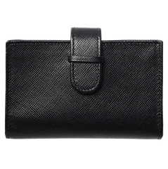 Saffiano Business Card Case Black | Buy MEN - ACCESSORIES - WALLETS & SMALL GOODS Products Online With the Best Deals at Anbmart.com.au!