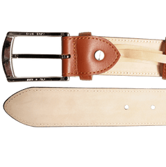 35 Mm Sartorial Buffed Leather Belt Tan | Buy MEN - ACCESSORIES - BELTS Products Online With the Best Deals at Anbmart.com.au!