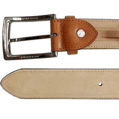 34 Mm Antiquated Cowhide Belt Tan | Buy MEN - ACCESSORIES - BELTS Products Online With the Best Deals at Anbmart.com.au!
