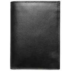 8 CC Buffed Calf Leather Pocket Billfold Black - MEN - ACCESSORIES - WALLETS & SMALL GOODS - Mates In Style Fashion