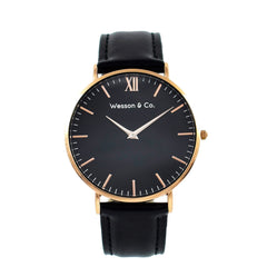 Rose Gold Black / Black - MEN - ACCESSORIES - WATCHES - Mates In Style Fashion