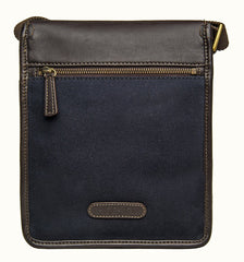 Hidesign Aiden Small Canvas Leather Cross Body - MEN - BAGS - CROSSBODY - Mates In Style Fashion