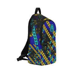 Blue Yellow Chain Adult Back Pack | Buy MEN - BAGS - BACKPACKS Products Online With the Best Deals at Anbmart.com.au!