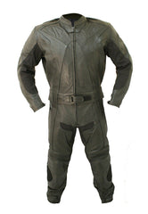 Black Biker Racing Genuine Leather Suit - MEN - APPAREL - OUTERWEAR - JACKETS - Mates In Style Fashion