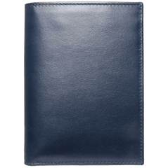8 CC Buffed Calf Leather Pocket Billfold Blue - MEN - ACCESSORIES - WALLETS & SMALL GOODS - Mates In Style Fashion