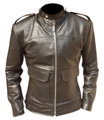 Men Dark Brown Biker Leather Jacket | Buy MEN - APPAREL - OUTERWEAR - JACKETS Products Online With the Best Deals at Anbmart.com.au!