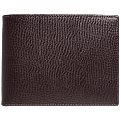 8 CC Saffiano Billfold Wallet | Buy MEN - ACCESSORIES - WALLETS & SMALL GOODS Products Online With the Best Deals at Anbmart.com.au!