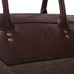 Banker's Wax Weekender Bag - MEN - BAGS - DUFFELS - Mates In Style Fashion