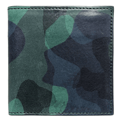 Camou Print Fullgrain Leather Billfold | Buy MEN - ACCESSORIES - WALLETS & SMALL GOODS Products Online With the Best Deals at Anbmart.com.au!