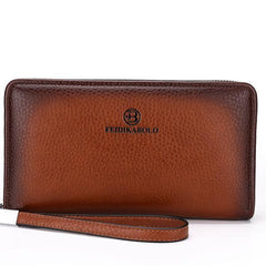 Luxury Leather  Clutch Wallets - MEN - ACCESSORIES - WALLETS & SMALL GOODS - Mates In Style Fashion