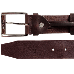 40mm Bridle Leather Belt Brown | Buy MEN - ACCESSORIES - BELTS Products Online With the Best Deals at Anbmart.com.au!