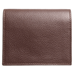 Grained Calf Leather Card Wallet Brown | Buy MEN - ACCESSORIES - WALLETS & SMALL GOODS Products Online With the Best Deals at Anbmart.com.au!