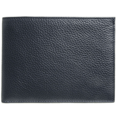 8 CC Grained Calf Leather Billfold Blue | Buy MEN - ACCESSORIES - WALLETS & SMALL GOODS Products Online With the Best Deals at Anbmart.com.au!