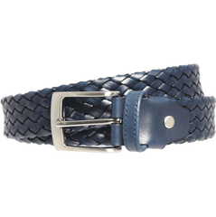 34 Mm Tubular Weave Belt Navy - MEN - ACCESSORIES - BELTS - Mates In Style Fashion