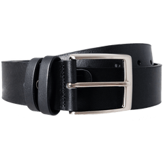 40 Mm Bridle Leather Belt Black - MEN - ACCESSORIES - BELTS - Mates In Style Fashion