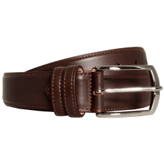35 Mm Sartorial Buffed Leather Belt Brown - MEN - ACCESSORIES - BELTS - Mates In Style Fashion