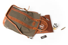 Helmet Bag - Small - Green And Tan | Buy MEN - BAGS - SHOULDER BAGS Products Online With the Best Deals at Anbmart.com.au!