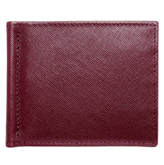 Saffiano Money Clip Bordeaux | Buy MEN - ACCESSORIES - WALLETS & SMALL GOODS Products Online With the Best Deals at Anbmart.com.au!