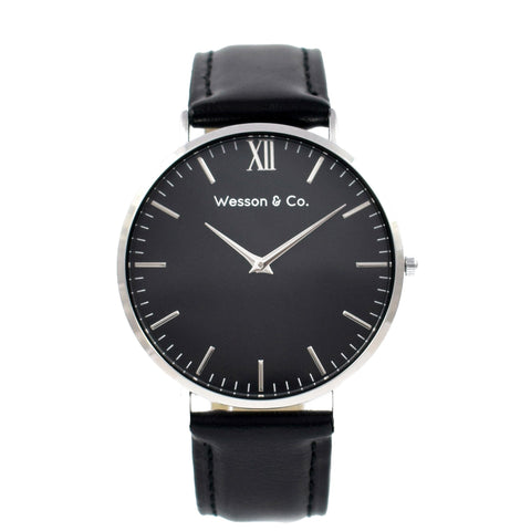 Silver Black / Black - MEN - ACCESSORIES - WATCHES - Mates In Style Fashion