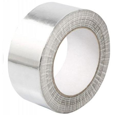 Aluminium Peel and Stick Duct Tape 48mm x 50m - The Grow Store