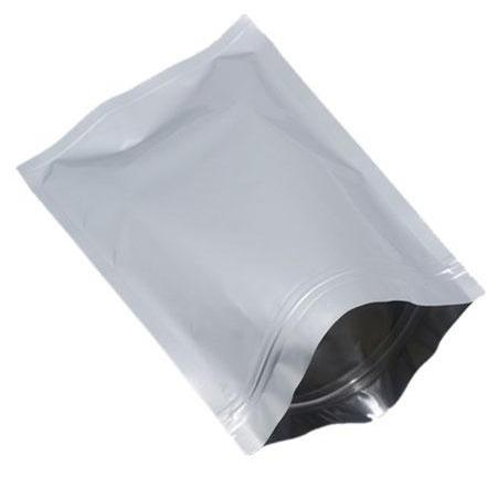 Resealable Iron Shut Bag - Silver