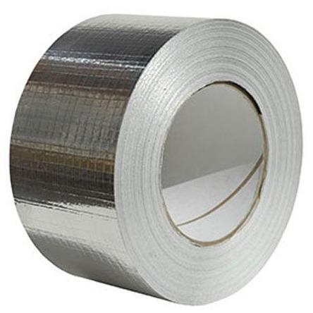 Metallised X Weave Duct Tape 75mm x 50m