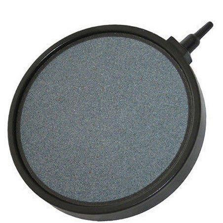 "Hailea 8"" Round Ceramic Air Stone - Solid Surround"