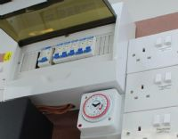 MDF Consumer Unit  Contactor/Timer Board 28/32