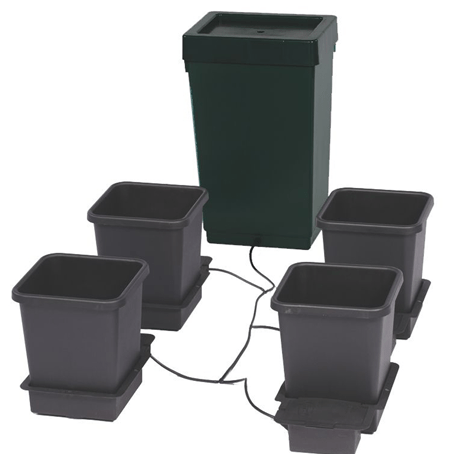 Autopot 4 Pot Kit with 47L Rigid Tank - Boxed - The Grow Store