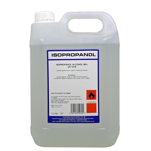 Isopropyl (Alcohol) 5L - The Grow Store