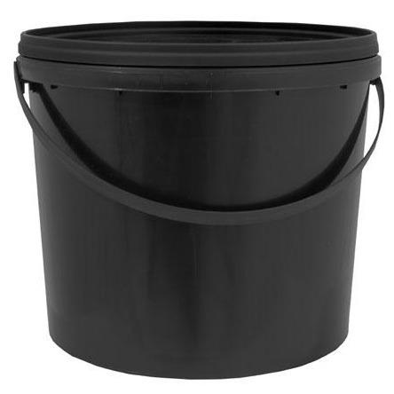 Bucket with Lid and Metal Handle