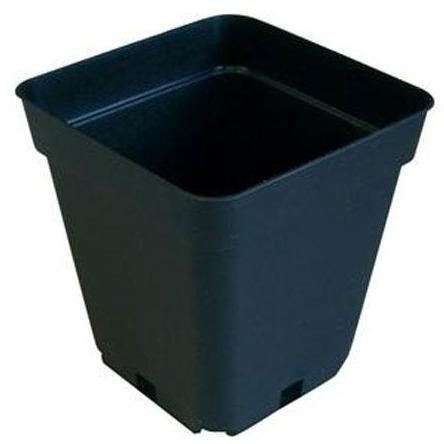 Square Plastic Plant Pots - The Grow Store